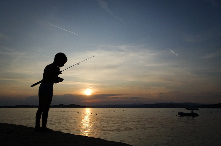 time for fishing