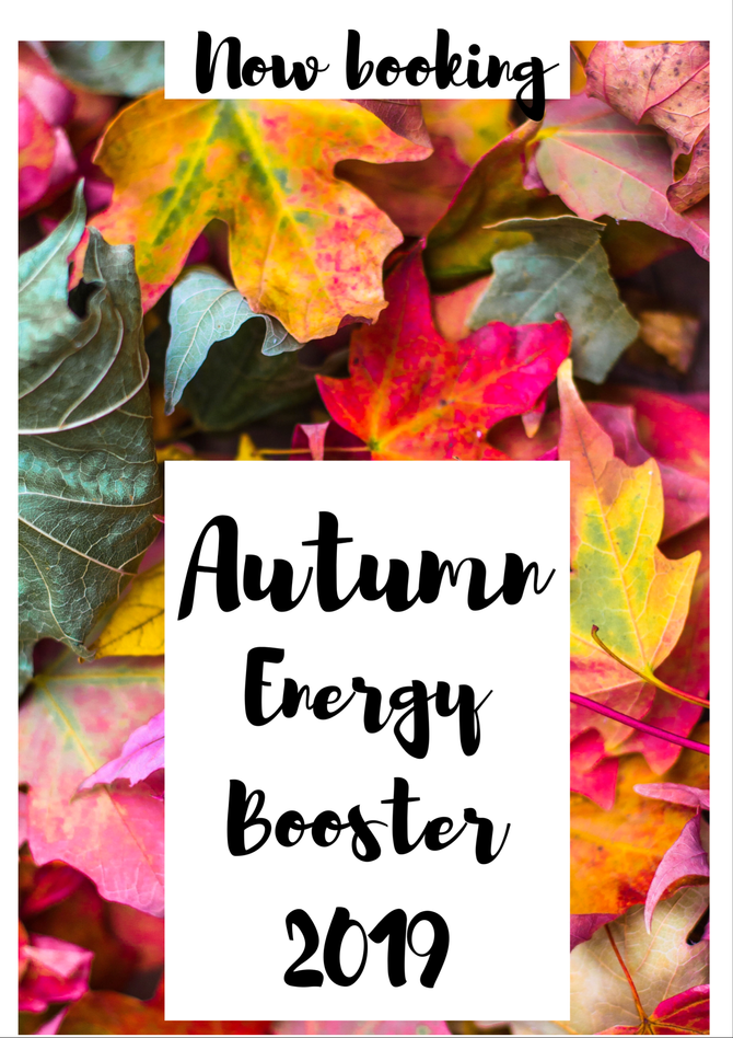 21 day online Autumn Energy Programme