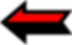 Schwarz und Rot Linkspfeil