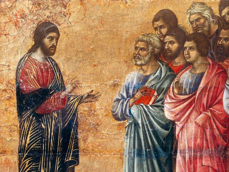 Appearance on the Mountain in Galilee by Duccio di Buoninsegna