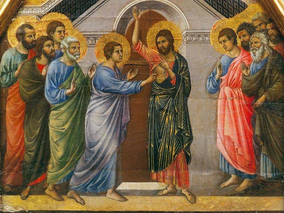 Doubting St. Thomas by Duccio di Buoninsegna
