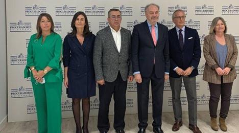 JAVIER CARLOS SANCHEZ GARCIA, REELEGIDO PRESIDENTE DEL CONSEJO GENERAL DE PROCURADORES DE ESPAÑA