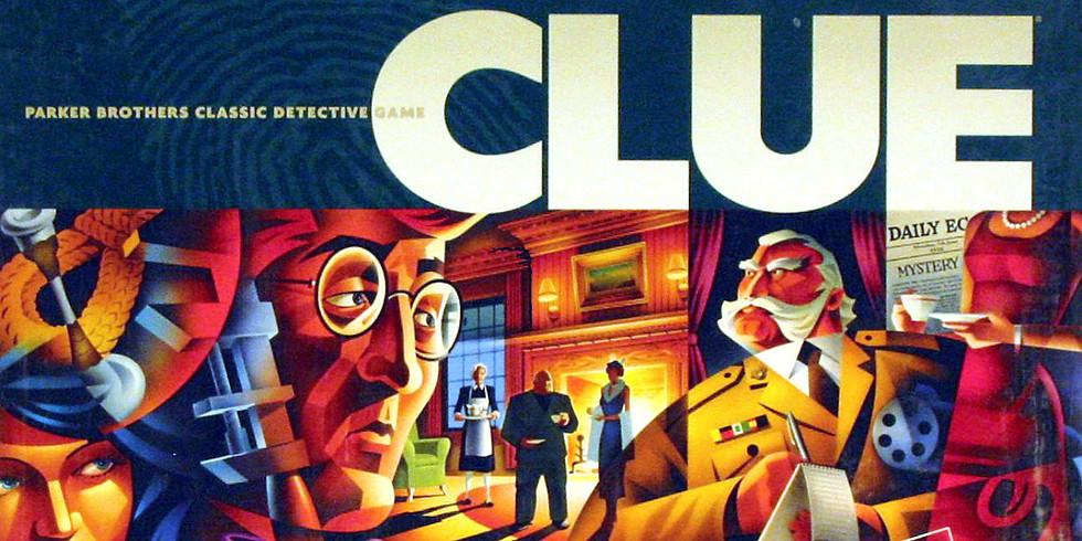 Clue Game Night