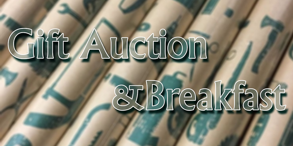 Men's Ministry Annual Wrapped Present Auction & Breakfast