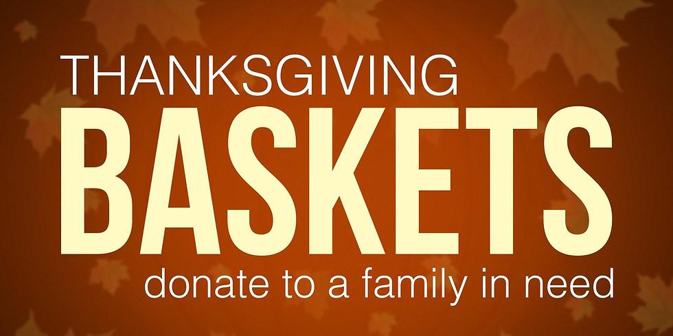 Thanksgiving Basket Give Away