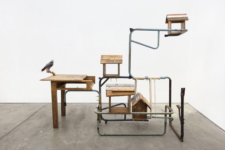Kemang Wa Lehulere, My Apologies to Time, 2017, Installation, measures vary, © Kemang Wa Lehulere, courtesy STEVENSON Cape Town and Johannesburg, courtesy of Deutsche Bank Kunsthalle