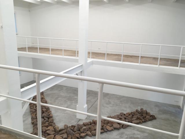 Richard Long at Konrad Fischer Galerie. Photo: wartsmagazine.com