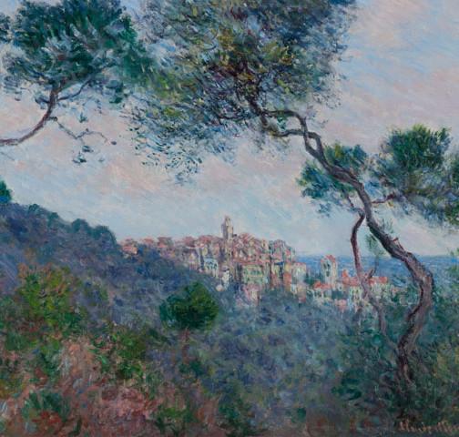 Claude Monet, Bordighera, Italien (Detail), 1884, Öl auf Leinwand, 60 x 73 cm, Museum Barberini