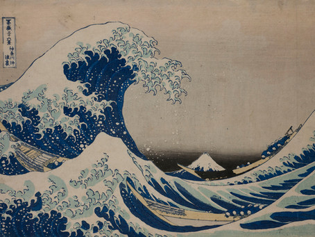 The Godzilla of Drawing: Hokusai at Grand Palais