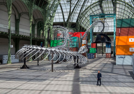 Ahoy Monumenta, fare you well! at Grand Palais
