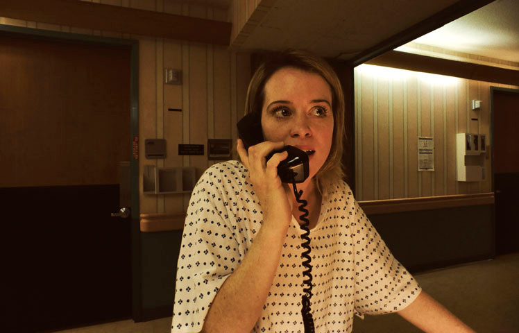 Unsane | Unsane – Ausgeliefert  Country: USA 2018  Director: Steven Soderbergh  Photo description: Claire Foy  Section: Competition  File: 201819686_1.jpg © Fingerprint Releasing / Bleecker Street