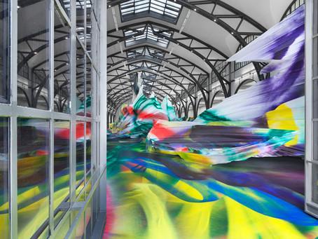 """""""It Wasn't Us"""" – Die Katharina Grosse war's. Eine Großinstallation am Museum Hamburger Bahnhof"""