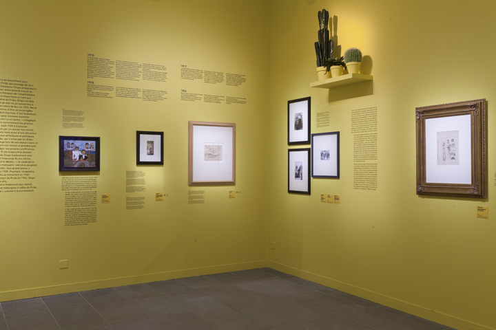 Frida Kahlo 01, exhibition view, © Sophie Boegly