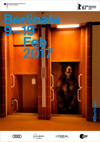 Berlinale #67, 2017, Poster, ©Berlinale