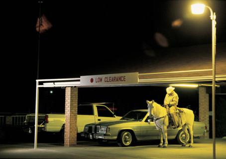 Cowboys catch the German Mondrian - Adolf Fleischmann and Dieter Blum at Daimler Contemporary