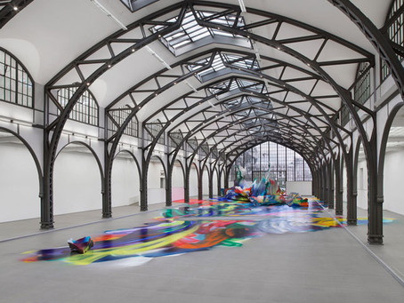 """It Wasn't Us"" – It's Katharina Grosse, and a Great Installation at Berlin's Hamburger Bahnhof"