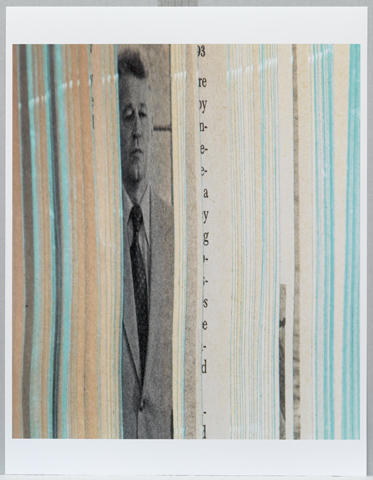 Erica Baum Jaws (aus der Serie Naked Eye), 2008 Tintenstrahldruck, 47 x 41,6 cm Solomon R. Guggenheim Museum, New York. Ankauf mit Unterstützung durch Aaron M. Tighe und Gattin, 2011.48 © Erica Baum
