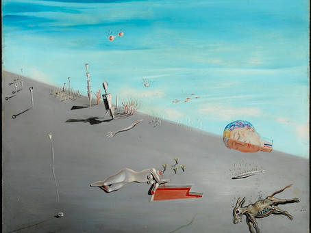 Viva El Loco: Some thoughts on Salvador Dali at Centre Pompidou