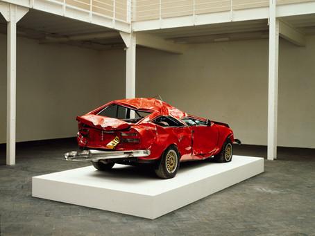 So many questions: Bertrand Lavier, Centre Pompidou, Paris