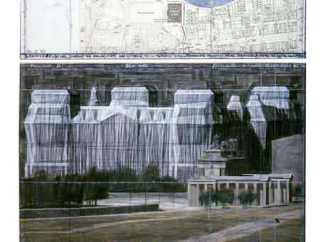De/Maskiert: Die Kunst in den Zeiten des Corona. Christo & Jeanne-Claude am Palais Populaire