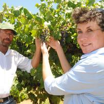 Dave & Anita in Vineyard