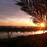 Sunrise over Gurra Wetlands