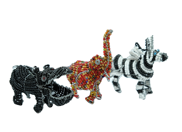 Wire Bead Animals