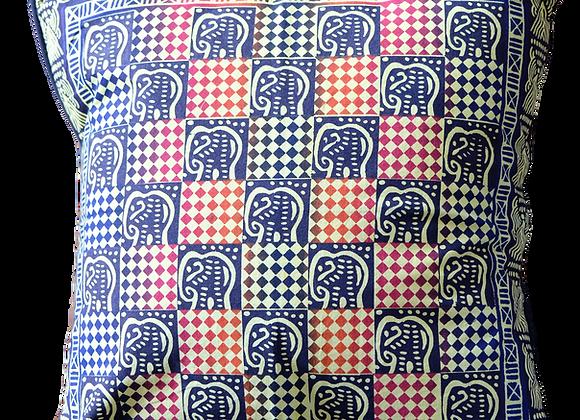 Potato Print Cushion Cover