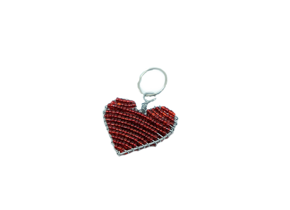 Wire Heart Keyring