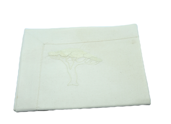Embroidered Placemat Tree