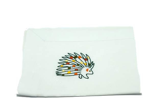 Embroidered Placemat Animal
