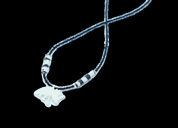 Bone Necklace-Rhino