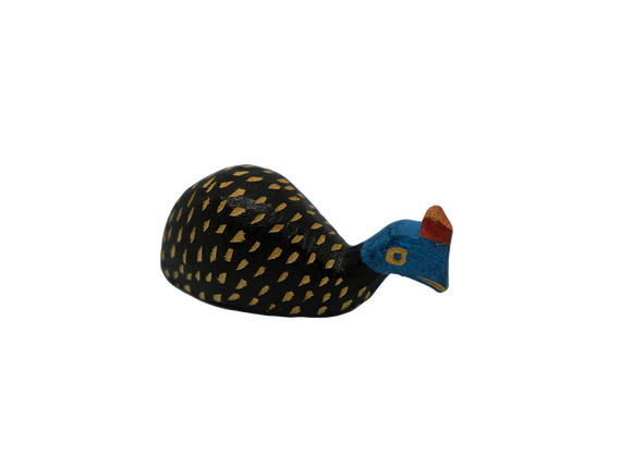 Wooden Guinea Fowl (Small)