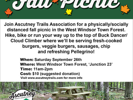 Ascutney Trails Association Fall Social Picnic