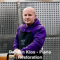 Damian Klos - Piano Restoration