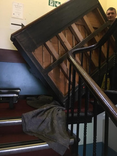A piano removal in London 5