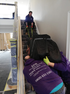 Piano removal in Liverpool 2