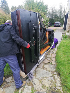 Piano removal in Liverpool 10
