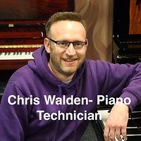 Chris Walden - Piano Technician