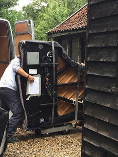 Piano removal in Norfolk
