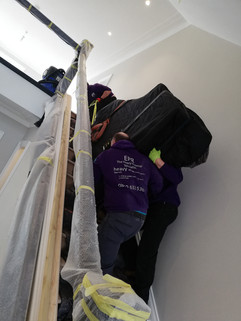 Piano removal in Liverpool 9