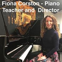 Fiona Corston - Piano Teacher and Director