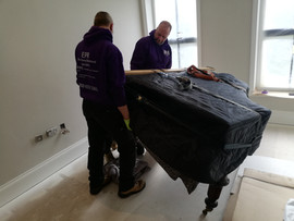 Piano removal in Liverpool