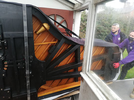 Piano removal in Liverpool 13