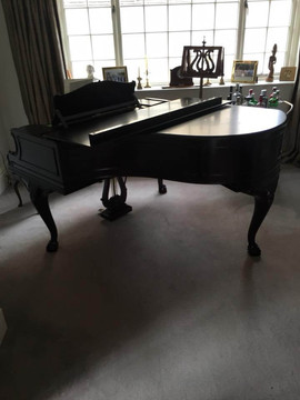 Delivery of a Bechstein piano in Yorkshire