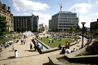 Sheffield - Peace Gardens