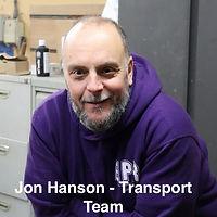 Jon Hanson - Transport Team