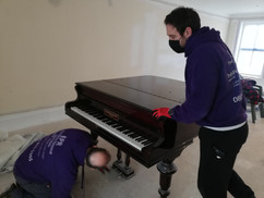 Piano removal in Liverpool 7