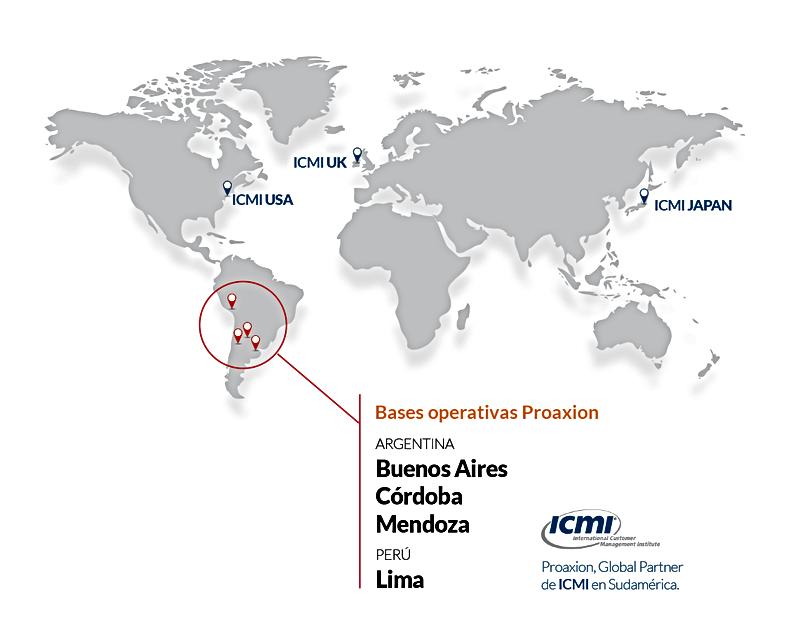 Consultora internacional CX