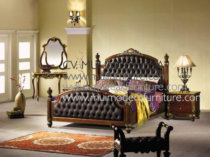 Mahogany Wood Bed Queen For Bedroom